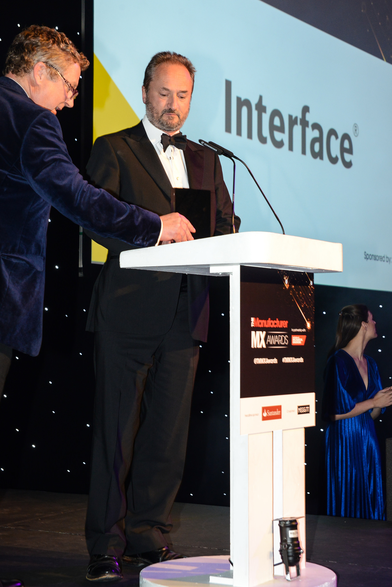 John Mould at the Manufacturer awards evening