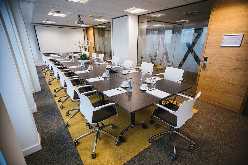 Photograph of a meeting room